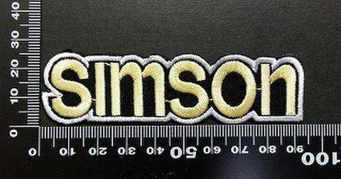 SIMSON ワッペン パッチ 06006