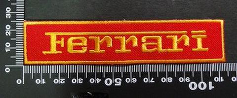 フェラーリ(ferrari) ワッペン パッチ 002017