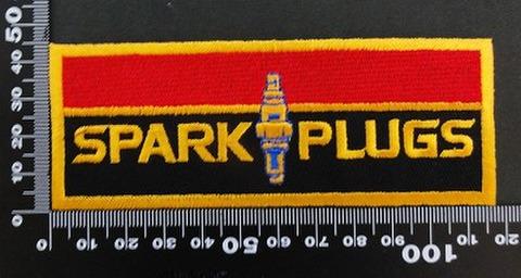 スパークプラグ  SPARKPLUGS  ワッペン パッチ 06410