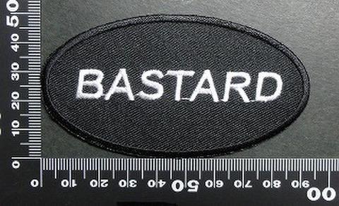 バスタード BASTARD ワッペン パッチ 01716