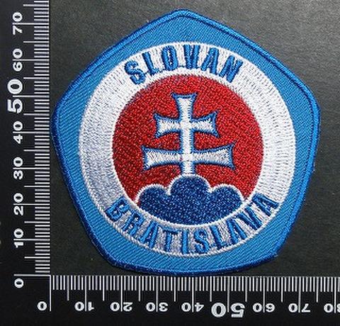 Slovan Bratislava スロヴァンブラチスラヴァ ワッペン パッチ 01699