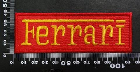フェラーリ(ferrari) ワッペン パッチ 02001