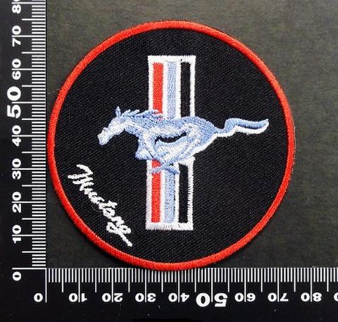 マスタング Mustang ワッペン パッチ  06585