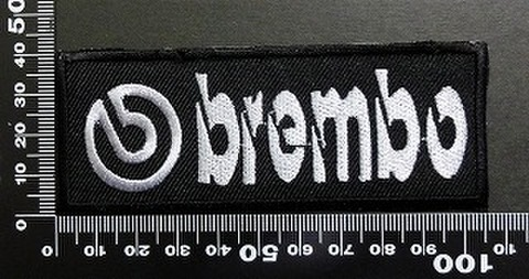 ブレンボ BREMBO ワッペン パッチ  05972
