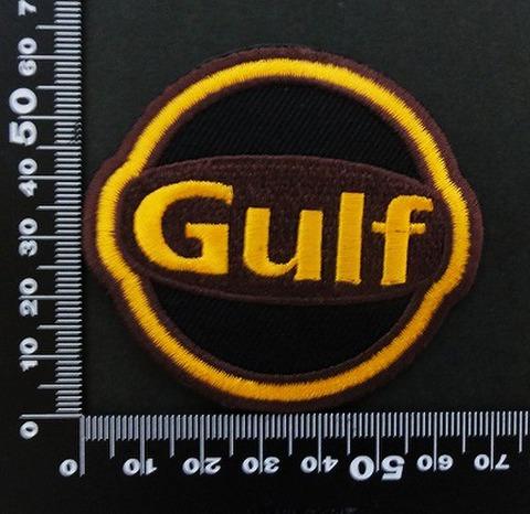 ガルフ GULF ワッペン パッチ 06433