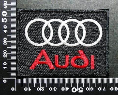 アウディ Audi ワッペン パッチ 01669