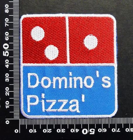 ドミノ dominos ワッペン パッチ 06576
