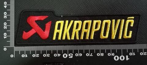 アクラポビッチ (AKRAPOVIC) ワッペン パッチ   143552