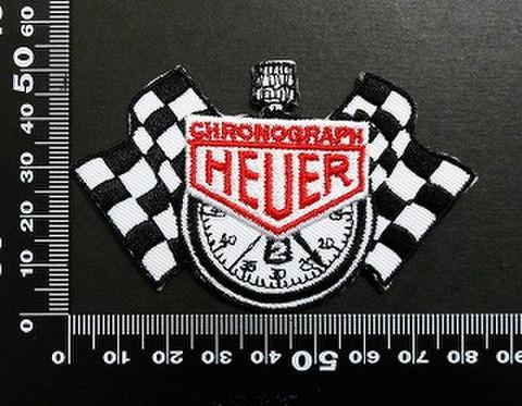 heuer chronograph ワッペン パッチ 05988