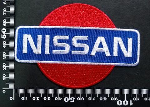 日産 ニッサン NISSAN ワッペン パッチ 07081
