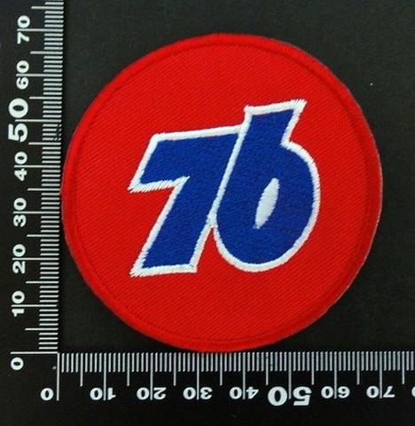 ユノカル 76 オイルLubricants ワッペン パッチ  06446