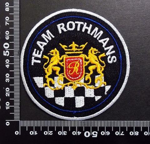 ロスマンズ Rothmans ワッペン パッチ  05964