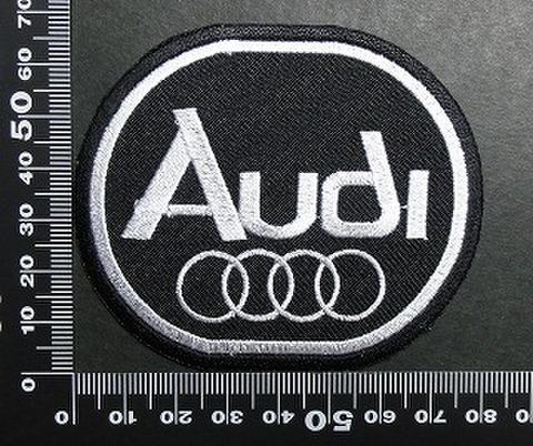 アウディ Audi ワッペン パッチ 01713