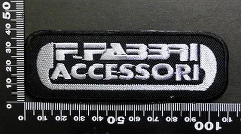 ファブリ F. FABBRI ACCESSORI  ワッペン パッチ 05956