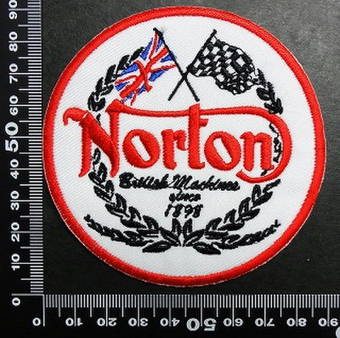 ノートン Norton ワッペン パッチ   01711