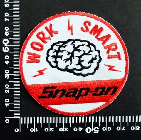 スナップオン snap-on ワッペン パッチ   06596