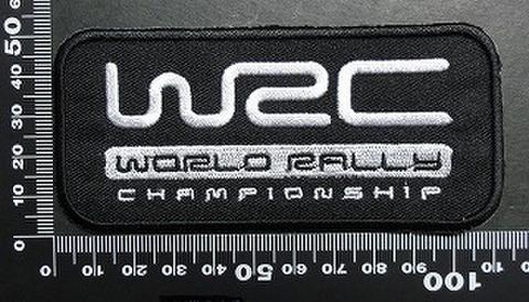 ラリー wrc ワッペン パッチ  01710