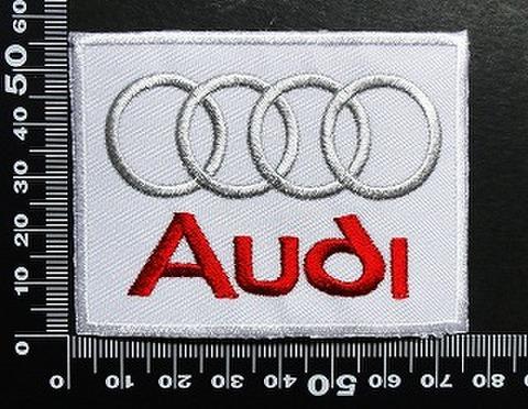 アウディ Audi ワッペン パッチ 01693