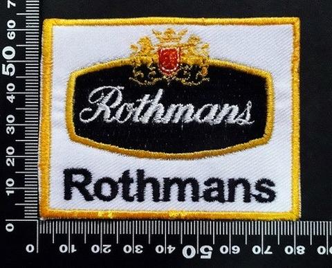 ロスマンズ Rothmans ワッペン パッチ  07098