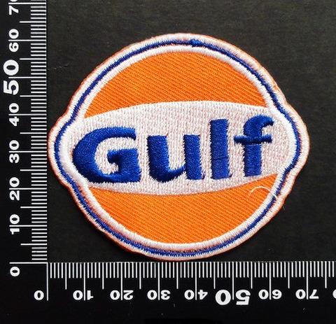 ガルフ GULF ワッペン パッチ 06584