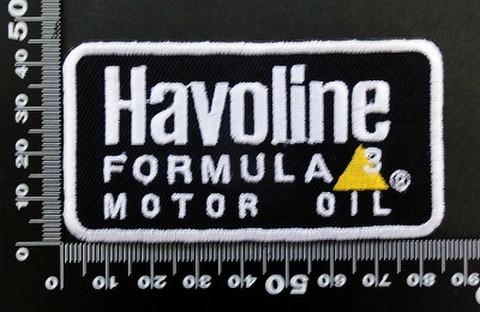 ハボリン Havoline ワッペン パッチ  06412