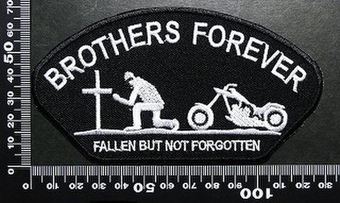 ブラザーズフォーエバー brothers forever ワッペン パッチ  01676