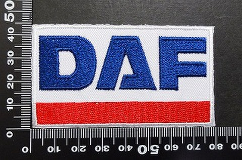 DAF(ダフ)ワッペン パッチ 06008