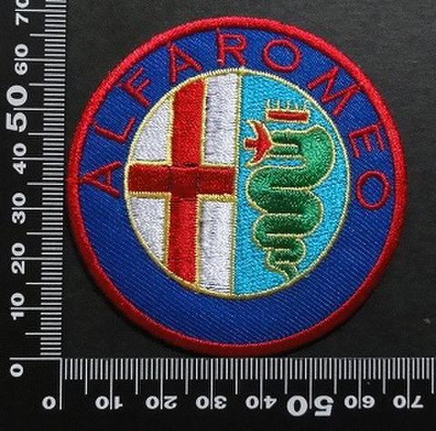 アルファ・ロメオ(Alfa Romeo )ワッペン パッチ  01968
