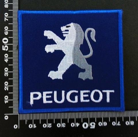プジョー PEUGEOT ワッペン パッチ 06455