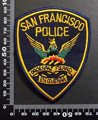 警察 ポリス POLICE ワッペン パッチ  05979