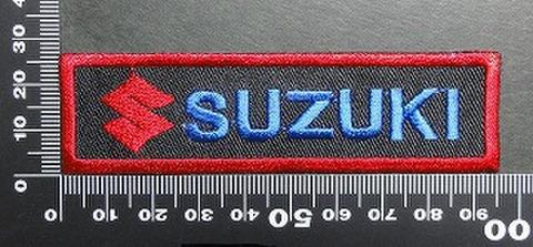 スズキ SUZUKI ワッペン パッチ  01714