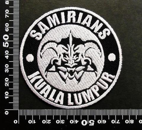 samirians ワッペン パッチ 06586