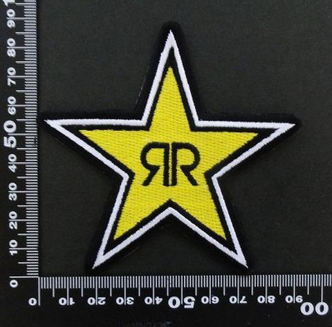 ロックスターエナジードリンク ROCKSTAR ワッペン パッチ 06436