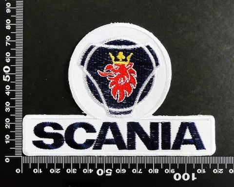 スカニア Scania ワッペン パッチ 06607