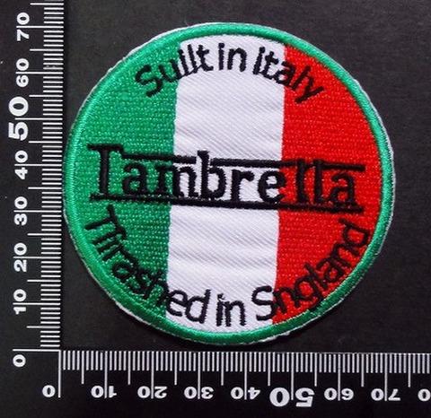 ランブレッタ LAMBRETTA ワッペン パッチ  07076