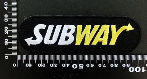 サブウェイ SUBWAY ワッペン パッチ 06419