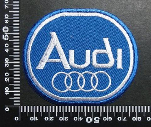 アウディ Audi ワッペン パッチ 01688