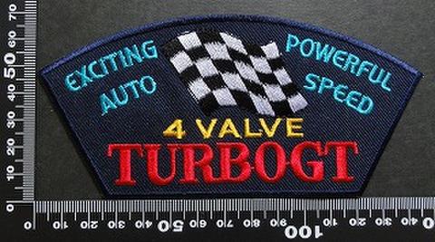 4 Valve TURBOGT ワッペン パッチ 01969
