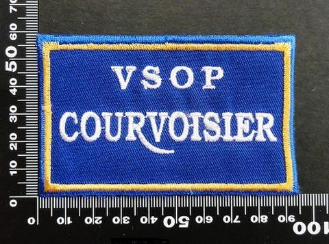 クールボアジェ vsop courvoisier ワッペン パッチ 06577