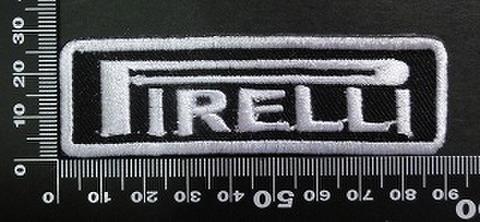 ピレリー PIRELLI ワッペン パッチ 02039