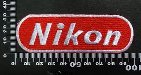 ニコン NIKON ワッペン パッチ 02025