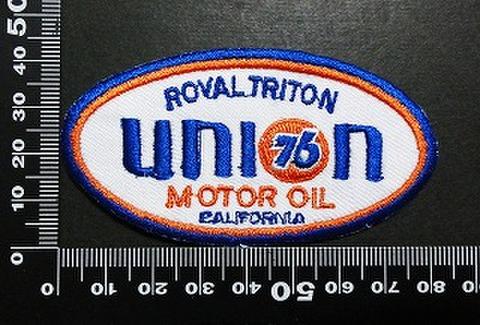 76Lubricants union76 ユノカル  ワッペン パッチ 05998