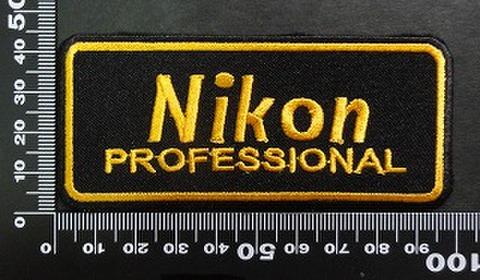 ニコン NIKON ワッペン パッチ 02041