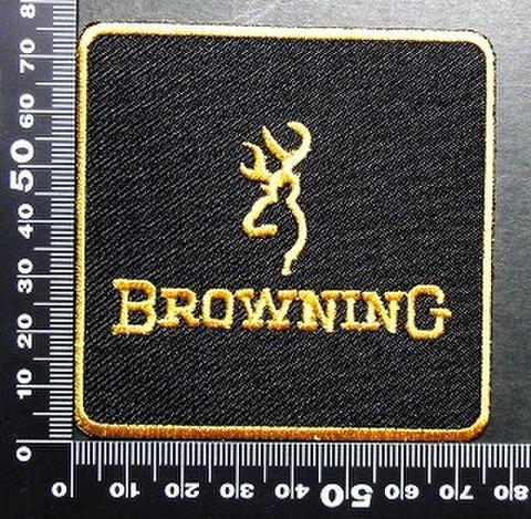 ブローニング Browning ワッペン パッチ 01670