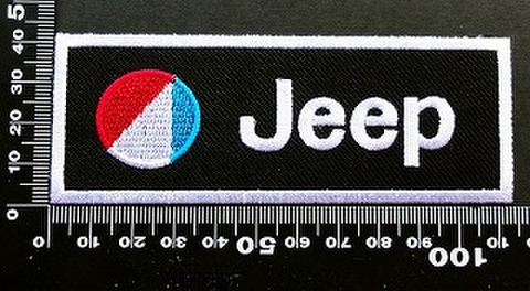 ジープ jeep ワッペン パッチ  09692