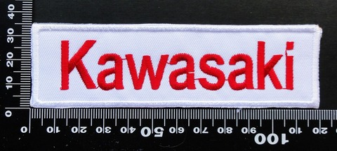KAWASAKI カワサキ ワッペン パッチ 09700