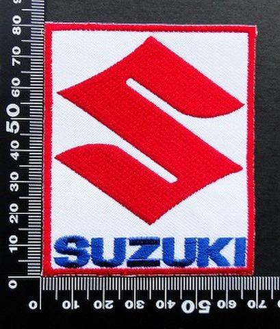 スズキ SUZUKI ワッペン パッチ 09501