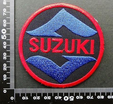 スズキ SUZUKI ワッペン パッチ  09814