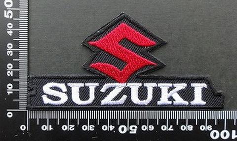 スズキ SUZUKI ワッペン パッチ  09815