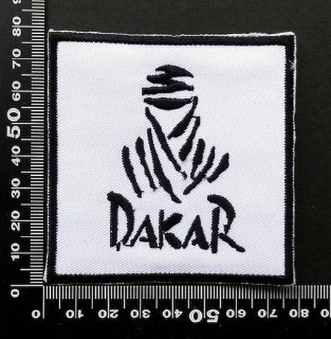 ダカールラリー DAKAR ワッペン パッチ 09627
